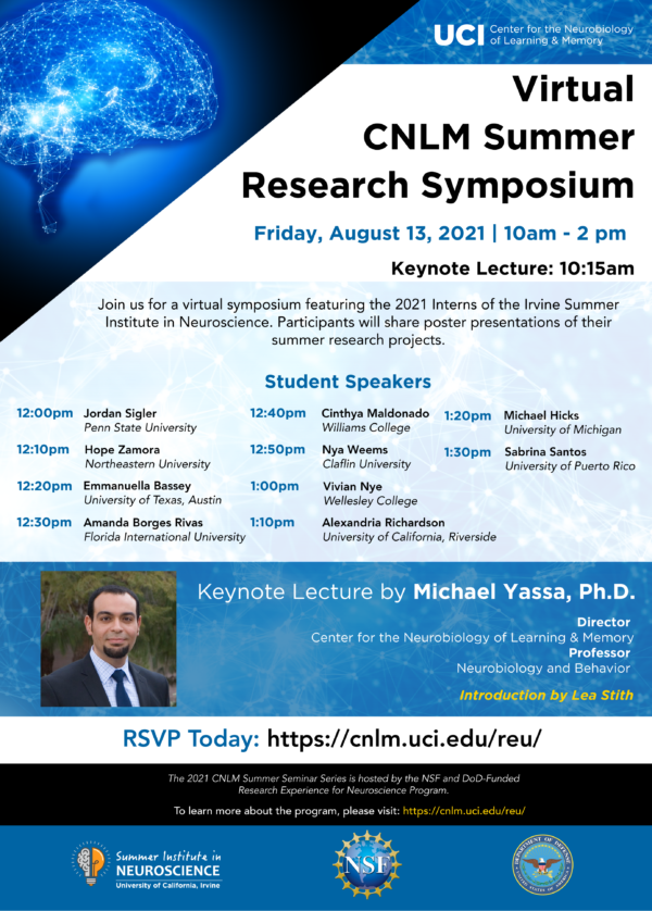 Virtual CNLM Summer Research Symposium